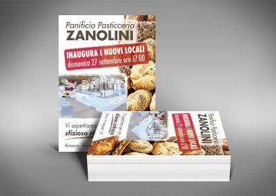 Volantini Panificio Pasticceria Zanolini