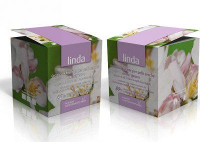 Linda - crema viso pelle secca