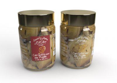 Etichette Carciofini